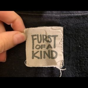 LF Tops - Furst of a Kind Mesh Sleeve Flanel - Oversized